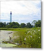 Cape May Lighthouse - New Jersey Metal Print