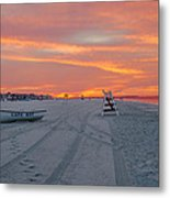 Cape May Seascape Metal Print