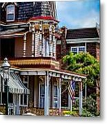Cape May Victorian Metal Print