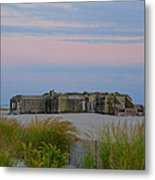 Cape May Wold War Two Concrete Bunker Metal Print