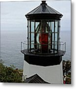 Cape Meares Light Metal Print