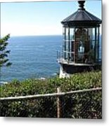 Cape Meares Lighthouse 1 Metal Print