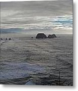 Cape Mears Storms Metal Print