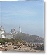 Cape Neddick Lighthouse IIi Metal Print