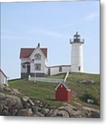 Cape Neddick Lighthouse - Me Metal Print