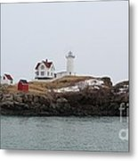 Cape Neddick - Nubble Light 2 Metal Print