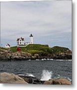 Cape Neddick - Nubble Lighthouse Metal Print