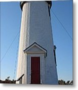 Cape Poge Lighthouse Metal Print