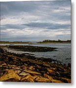 Cape Porpoise Maine - After The Rain Metal Print by Bob Orsillo