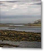 Cape Porpoise Maine - Fog On The Horizon Metal Print
