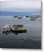 Cape Purpoise Pier  Metal Print