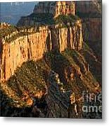 Cape Royal Towers Metal Print