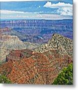 Cape Royal Two On North Rim Of Grand Canyon-arizona Metal Print