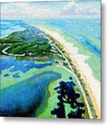 Cape San Blas Florida Metal Print