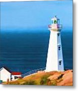 Cape Spear Lighthouse Metal Print