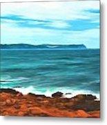 Cape Spear Shoreline Metal Print