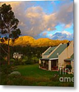 Cape Sunset Metal Print