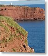Cape Tryon Lighthouse Metal Print