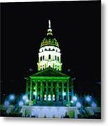 capital building in Topeka Kansas Metal Print