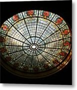 Capital Building Stained Glass 2 Metal Print