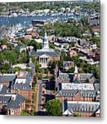 Capital Of Maryland In Annapolis Metal Print