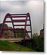 Capital Of Texas Bridge Metal Print