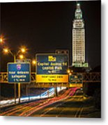 Capitol Area Access Road Metal Print