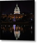 Capitol Christmas - 2012 Metal Print