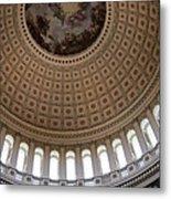 Capitol Cupola Washington Dc Metal Print