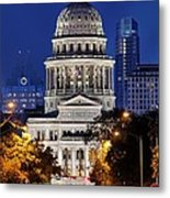 Capitol Of Texas Metal Print