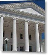 Capitol Pillars - Richmond Metal Print