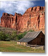 Capitol Reef Homestead Metal Print