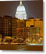 Capitol - Madison - Wisconsin Metal Print
