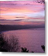 Capitola Bluffs Metal Print