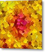 Capixart Abstract 100 Metal Print