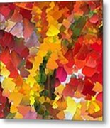 Capixart Abstract 102 Metal Print by Chris Axford