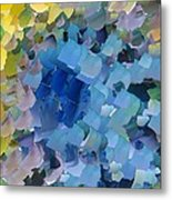 Capixart Abstract 107 Metal Print by Chris Axford