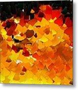 Capixart Abstract 108 Metal Print