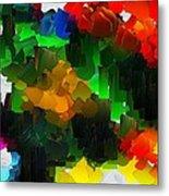 Capixart Abstract 109 Metal Print
