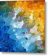Capixart Abstract 110 Metal Print