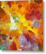 Capixart Abstract 116 Metal Print