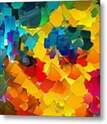 Capixart Abstract 117 Metal Print