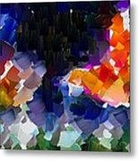 Capixart Abstract 119 Metal Print
