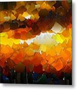 Capixart Abstract 120 Metal Print