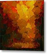 Capixart Abstract 72 Metal Print by Chris Axford