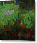 Capixart Abstract 85 Metal Print by Chris Axford