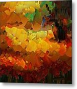 Capixart Abstract 91 Metal Print