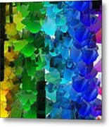 Capixart Abstract 93 Metal Print