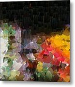 Capixart Abstract 94 Metal Print by Chris Axford