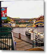 Cap'n Jacks Marina Harbor Walt Disney World Metal Print